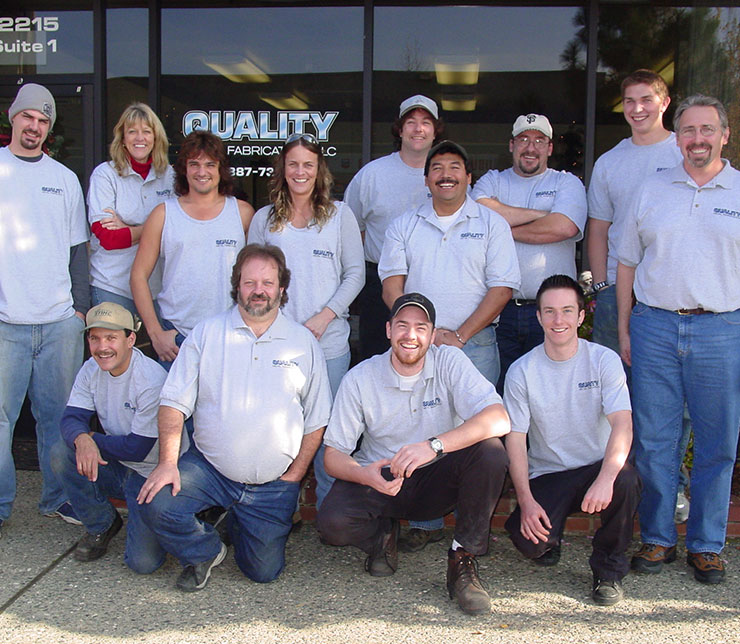 Quality Metal Fabrication Team